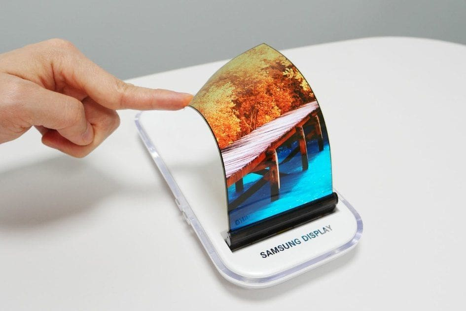 Samsung teases world's first foldable phone | The Thaiger