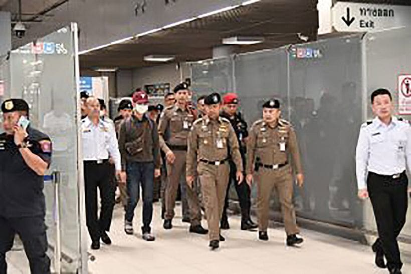Welcome home, now off to jail | News by The Thaiger