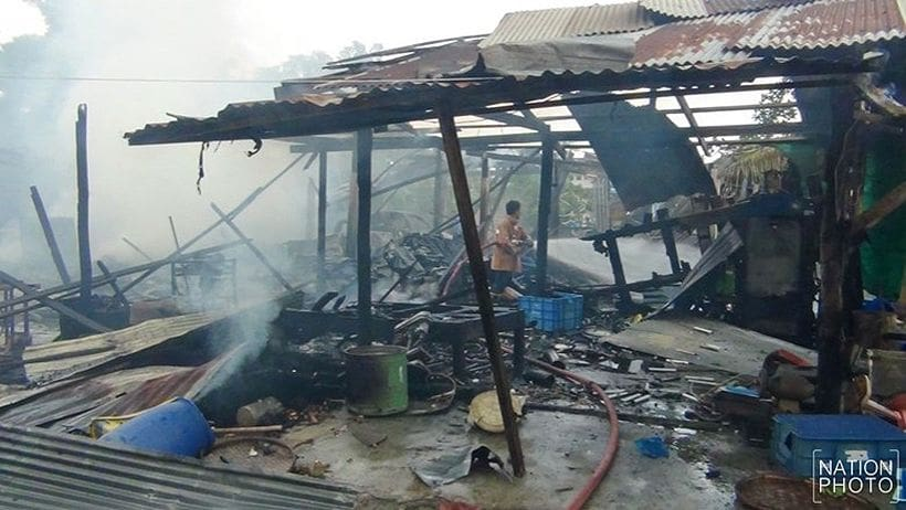 Fireworks factory explodes in Chachoengsao   The Thaiger