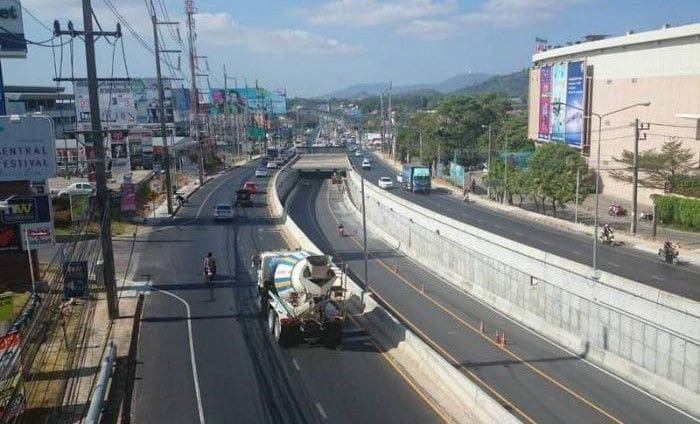 Darasamut Underpass  closed for maintenance today | The Thaiger