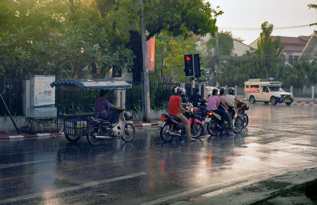 Storms and strong winds hit Chiang Mai | The Thaiger