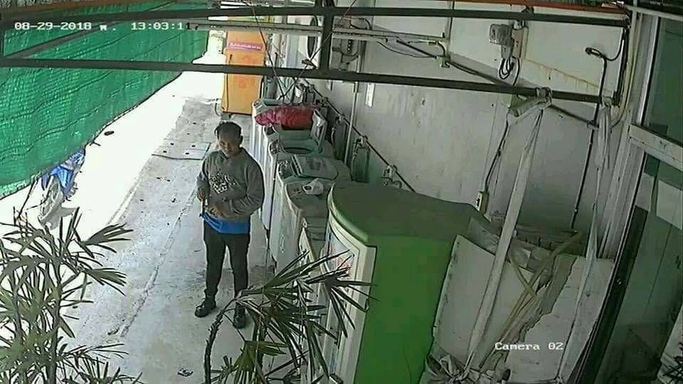Phuket underwear thief caught on CCTV - VIDEO | News by The Thaiger