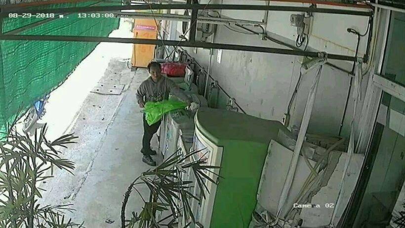 Phuket underwear thief caught on CCTV - VIDEO | News by The Thaiger