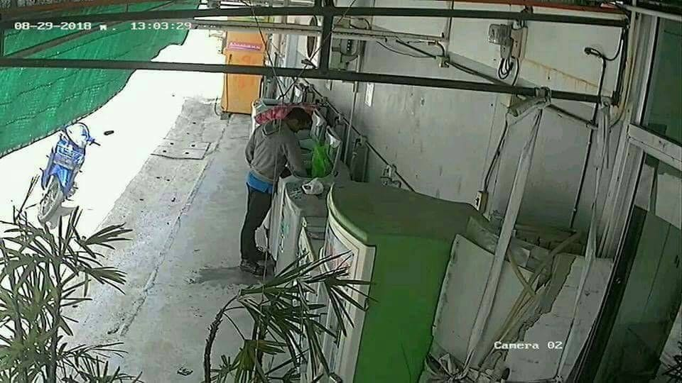 Phuket underwear thief caught on CCTV – VIDEO | The Thaiger