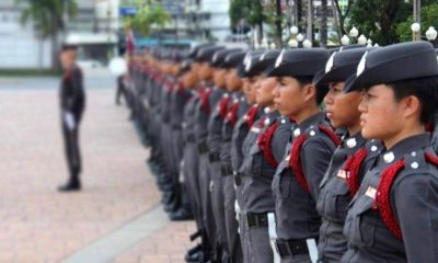 Men-only police academy riles rights groups | The Thaiger