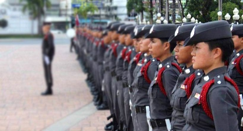 Men-only police academy riles rights groups   The Thaiger