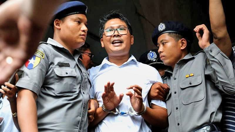 Reuters reporters jailed for seven years in Myanmar | The Thaiger