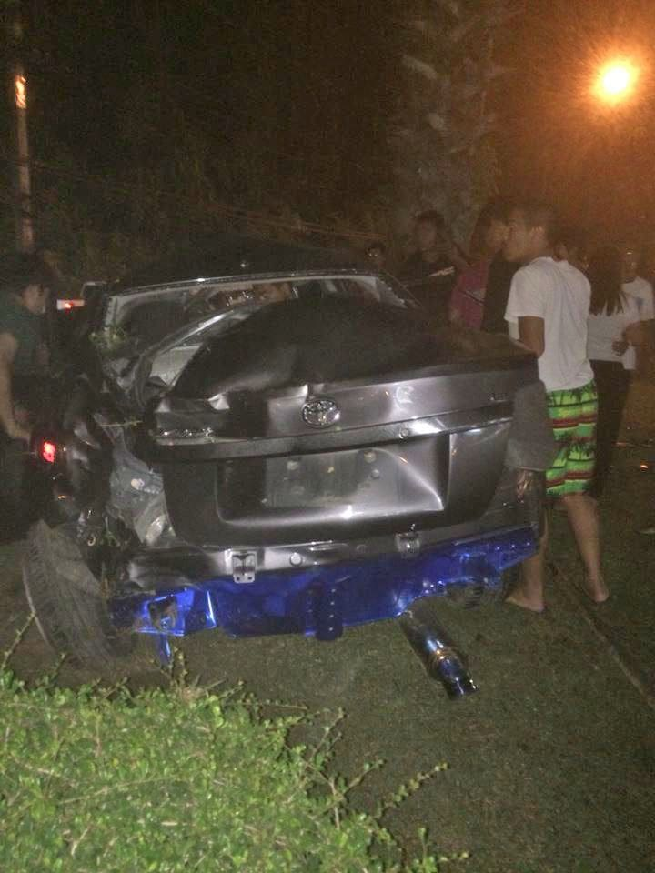 Driver injured after colliding with power pole in Thalang | The Thaiger