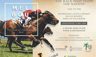 Celebrate The Melbourne Cup in style – Phuket charity event | The Thaiger