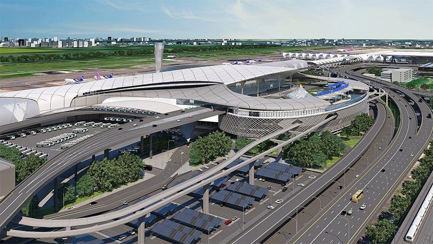 Is the new Suvarnabhumi T2 design copied? | News by The Thaiger
