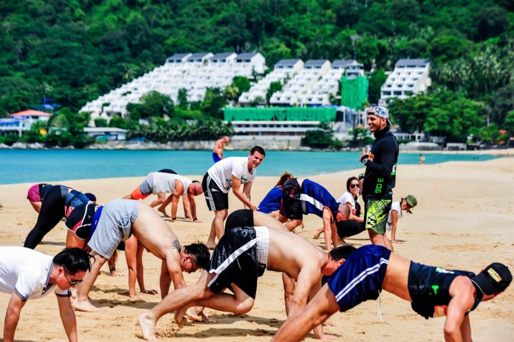 Clean The Beach Bootcamp heads to Surin Beach for World Clean Up Day   News by The Thaiger