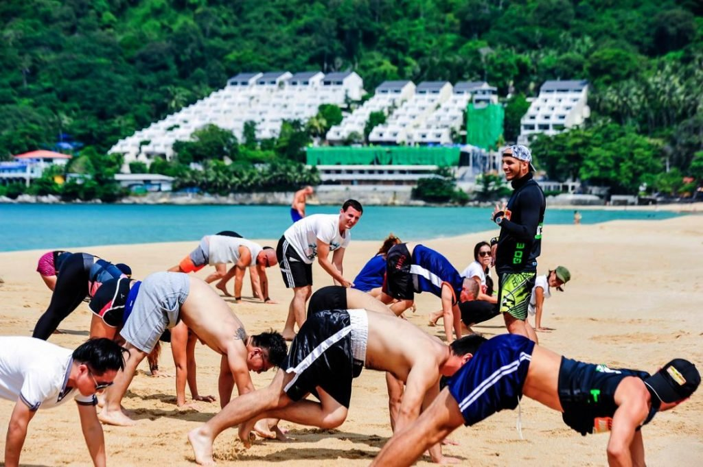 Clean The Beach Bootcamp heads to Surin Beach for World Clean Up Day | News by The Thaiger