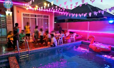 Drug and pool  parties busted after residents complain about short-term villa rentals | The Thaiger