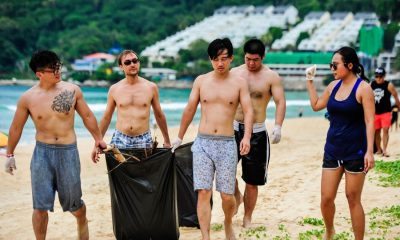 Clean The Beach Bootcamp heads to Surin Beach for World Clean Up Day | The Thaiger
