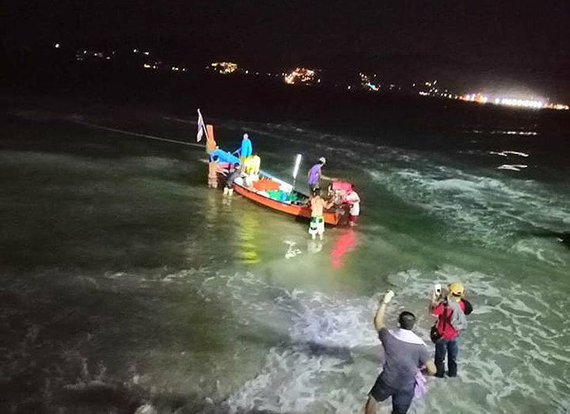Foreign man rescued after drifting out to sea | The Thaiger