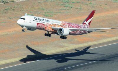 QANTAS passengers heap praise on pilot for turn-around | The Thaiger