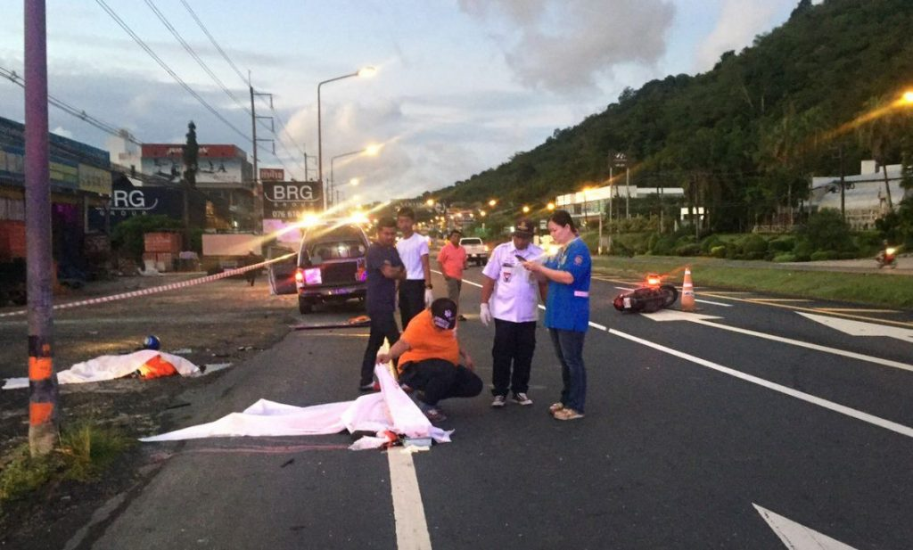 Two motorists died in Phuket road accident | News by The Thaiger