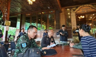 Restaurant harassed by men claiming to be military officers | The Thaiger