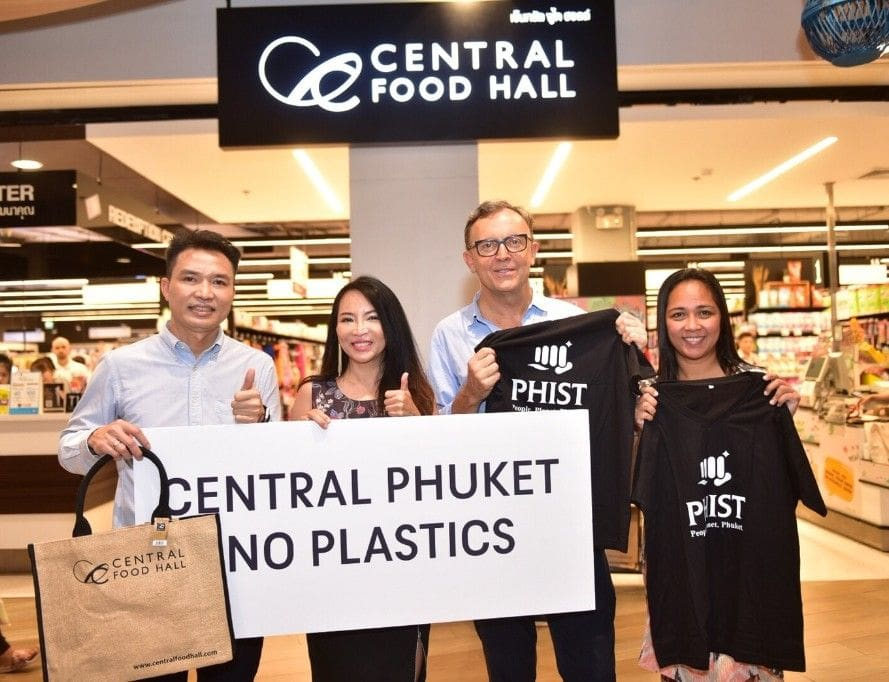 Phuket hotels join forces with Central Group to reduce plastic bag use   The Thaiger