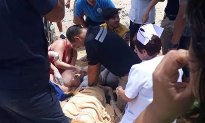 Chinese tourist in coma after being rescued from surf at Mai Khao Beach | The Thaiger