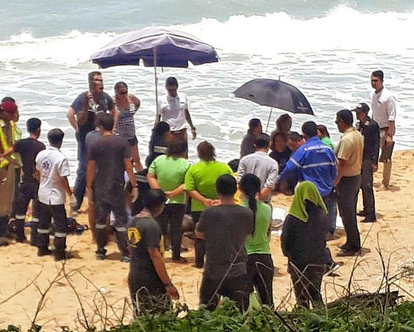 Chinese tourist in coma after being rescued from surf at Mai Khao Beach   News by The Thaiger