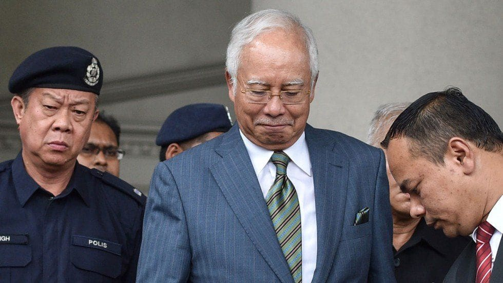 Former Malay PM Najib to face up to 20 charges over 1MDB scandal | The Thaiger