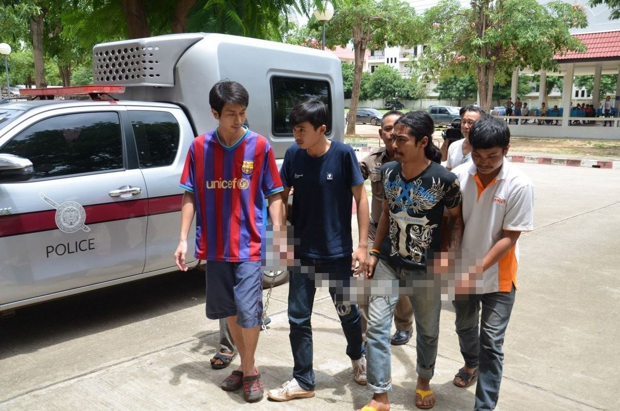 eb24b206bf Kanchanaburi mother and her lover arrested over 2015 murder