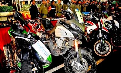 Pathum Thani street racers arrested for modifying bikes   The Thaiger