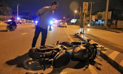 Road racing motorbikes collide in Bangkok – one dead, one injured | The Thaiger