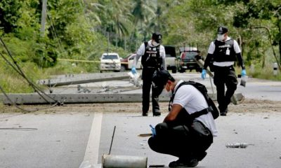 Two rangers killed, four others injured in Pattani ambush | The Thaiger