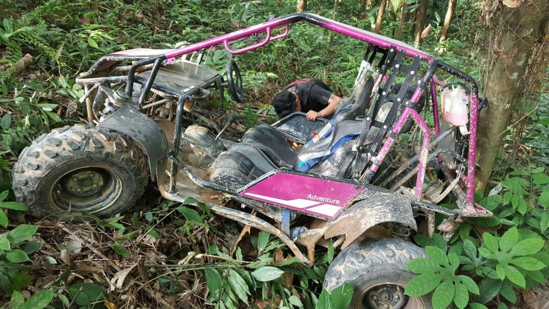 Tourist seriously injured in ATV accident | The Thaiger