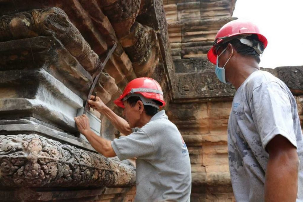 Saving ancient stone - restoration of the Angkor heritage sites | News by The Thaiger