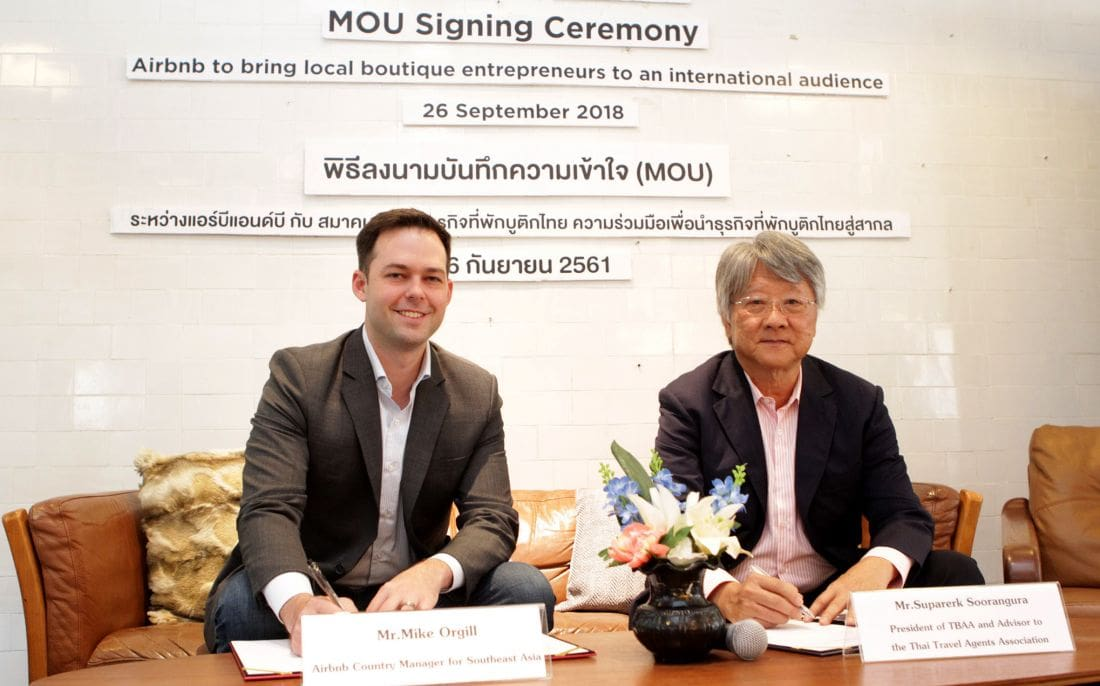 Airbnb partners with Thailand Boutique Accommodation Trade Association | The Thaiger