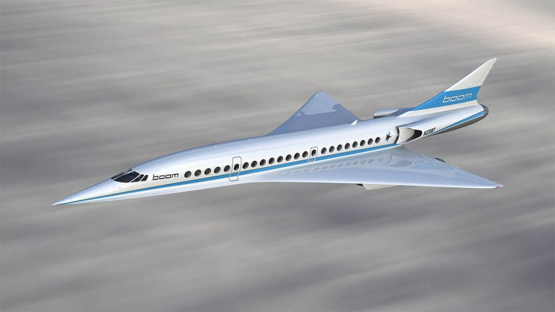 Bangkok to Los Angeles in just over 5 hours. The second supersonic revolution. | The Thaiger