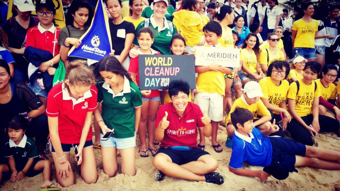 Trash Hero Phuket in World Beach Cleanup Day | The Thaiger