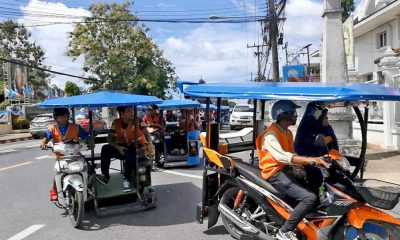 Krabi 'Saleng' taxi drivers protest to be allowed to carry passengers | The Thaiger