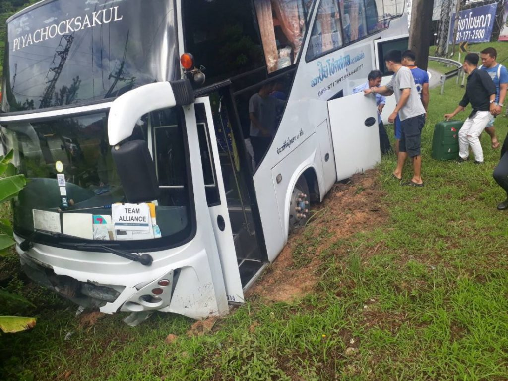 Bus driver charged with reckless driving in Patong bus incident | News by The Thaiger
