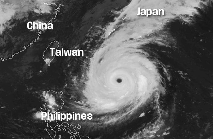 Typhoon Trami predicted to regain strength and hit Japan this weekend | The Thaiger
