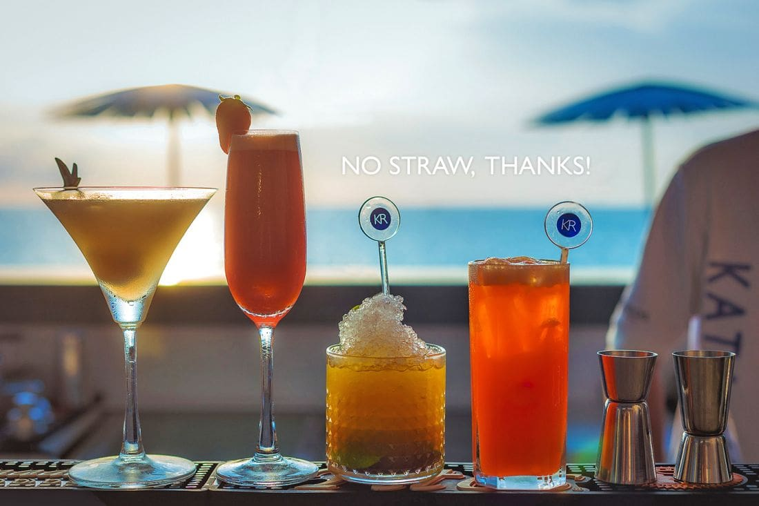 Kata Rocks ends the use of plastic straws | The Thaiger