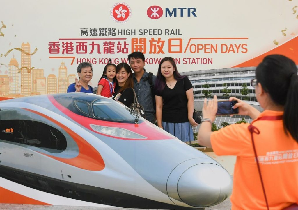 New Hong Kong to Shenzhen high speed train launches today | News by The Thaiger