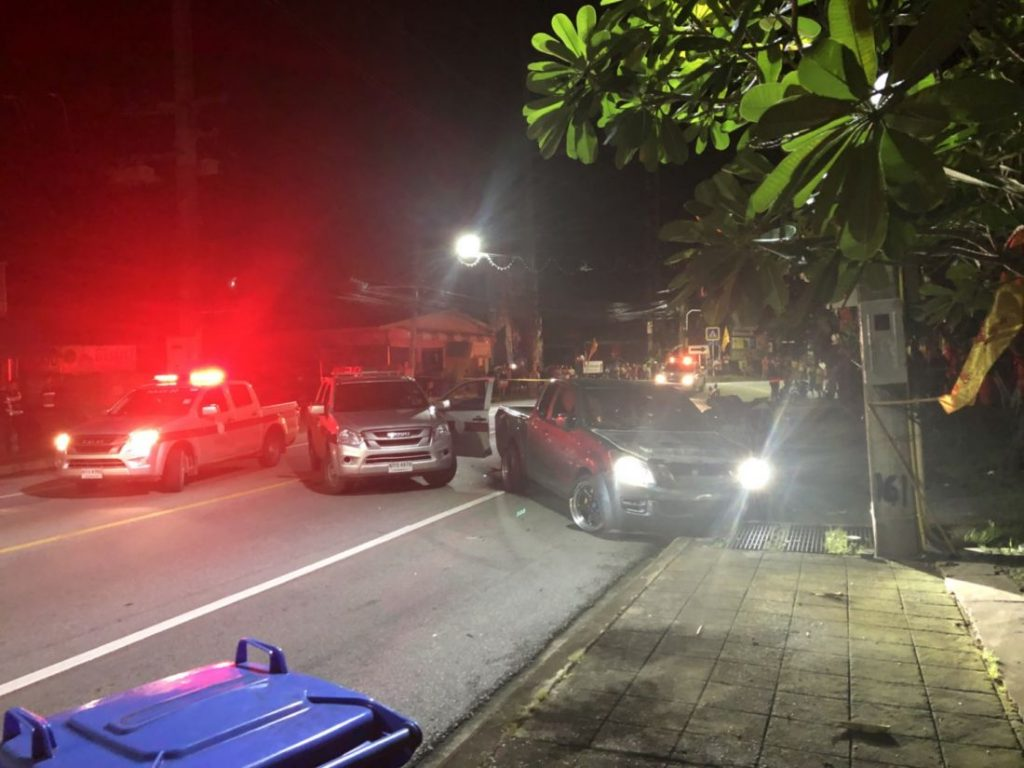 Police commander follows up on shooting of a man who ran a checkpoint | News by The Thaiger