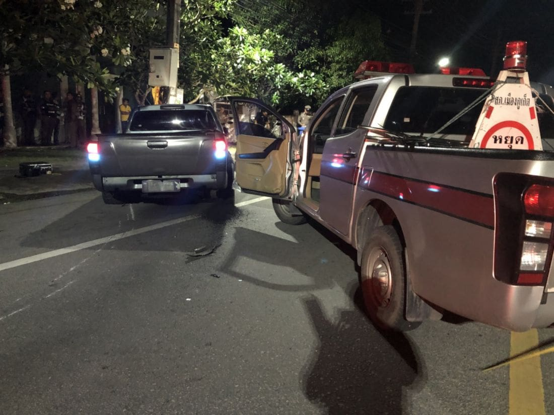 Police commander follows up on shooting of a man who ran a checkpoint | The Thaiger