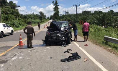 Two college students killed in Krabi head-on | The Thaiger