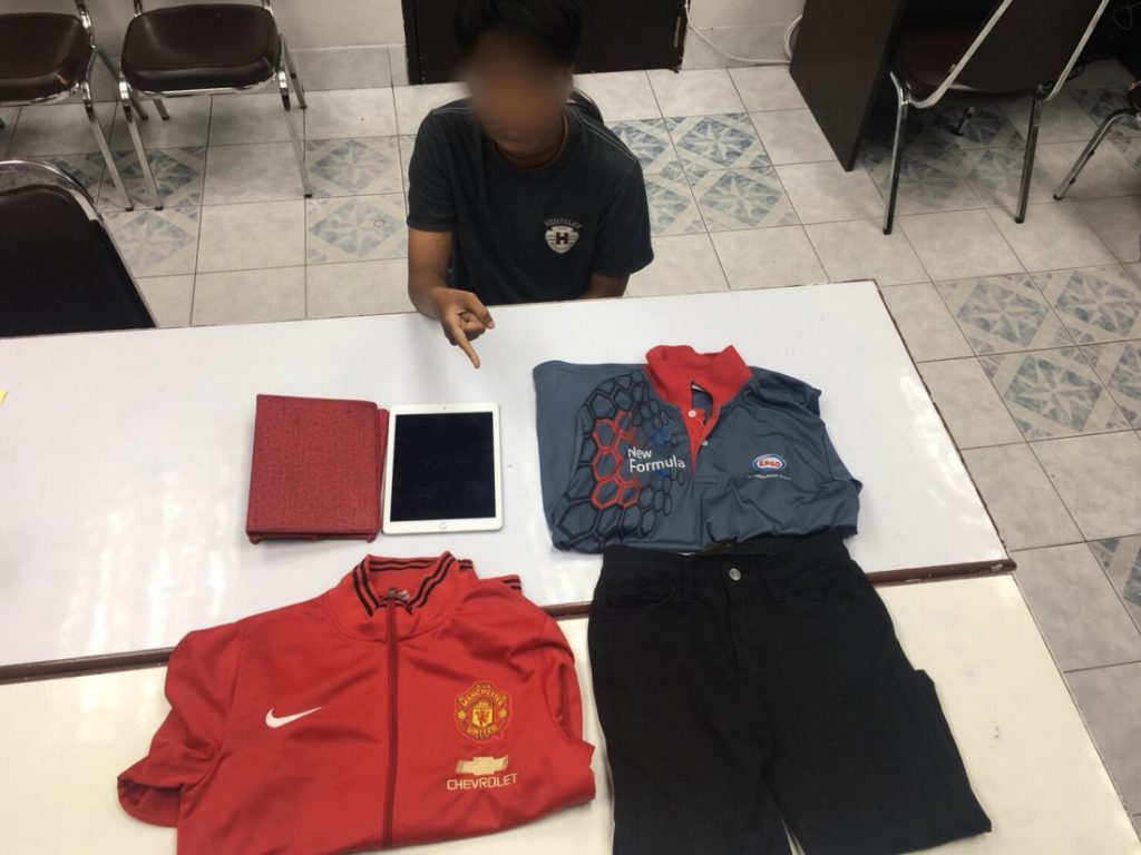Female arrested for theft, including lottery tickets and tablets | News by The Thaiger