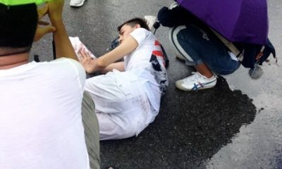 Chinese tourist badly injured in hit and run | The Thaiger