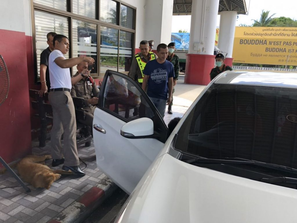 Two arrested with nearly 2,000 methamphetamine pills at Phuket Checkpoint   News by The Thaiger