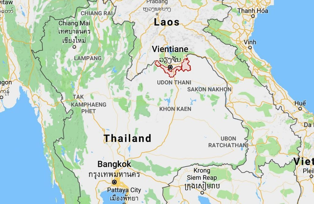Mekong water level drops but surrounding areas remain submerged | News by The Thaiger