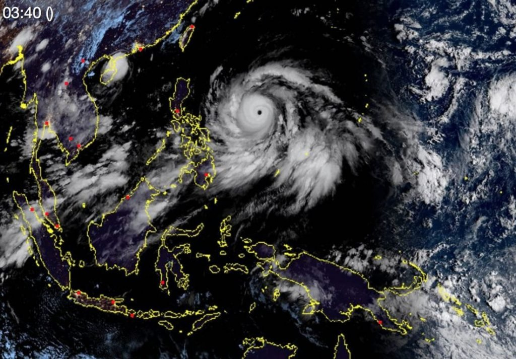 Mega storm bears down on Luzon Island, The Philippines   News by The Thaiger