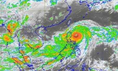 Mangkhut bearing down on the northern tip of Luzon, The Philippines | The Thaiger