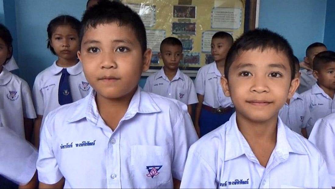 How many twins in one Trang school? | The Thaiger